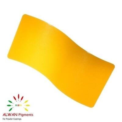 Yellow Metallic Alwan powder coating china Wholesale powder coating high glossy epoxy polyester 20kg/Box