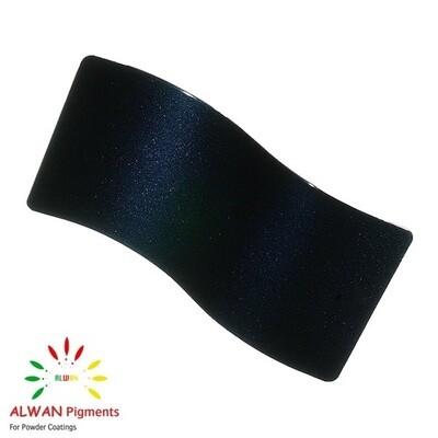 Night Black Metallic Alwan powder coating china Wholesale powder coating high glossy epoxy polyester 20kg/Box