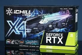 [預訂 Pre-order]  Inno3D iChill x4 RTX3080 10G GDDR6X (四風扇)