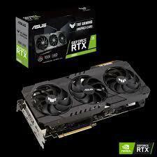 ASUS TUF GeForce RTX3070 O8G GAMING GDDR6X