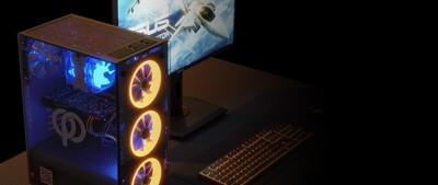 [電腦組合] MINION R + 華碩24吋顯示器套裝連鍵盤滑鼠揚聲器