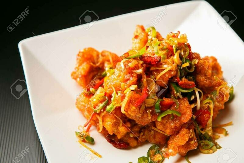 Saucy Fried Chicken - Kkanpoonggi (깐풍기)