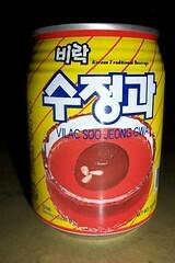 Cinnamon Punch - Soo Jeong Gwa (수정과) Small Can