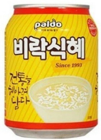 Rice Punch - Shikhye (식혜) Small Can
