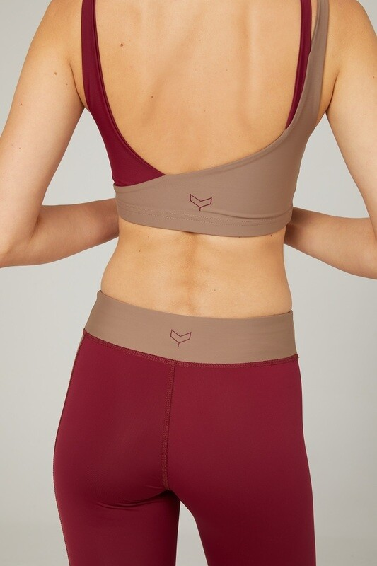 FLOW Two-Tone Sports Bra