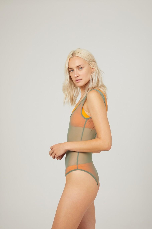 PARADOX Bikini & Mesh One Piece Swimsuit