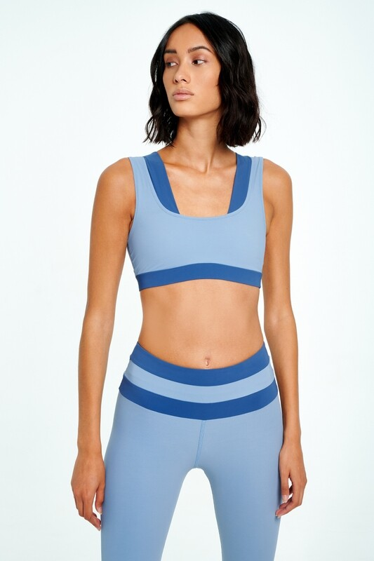 FUNCTION Two-tone  sports bra