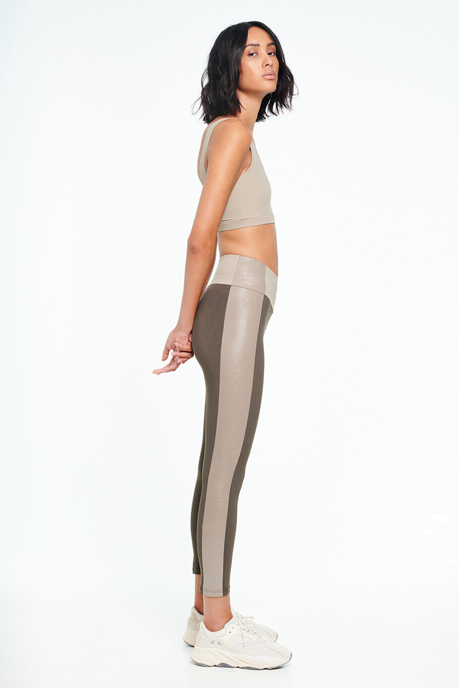 UNIT Three-tone leggings