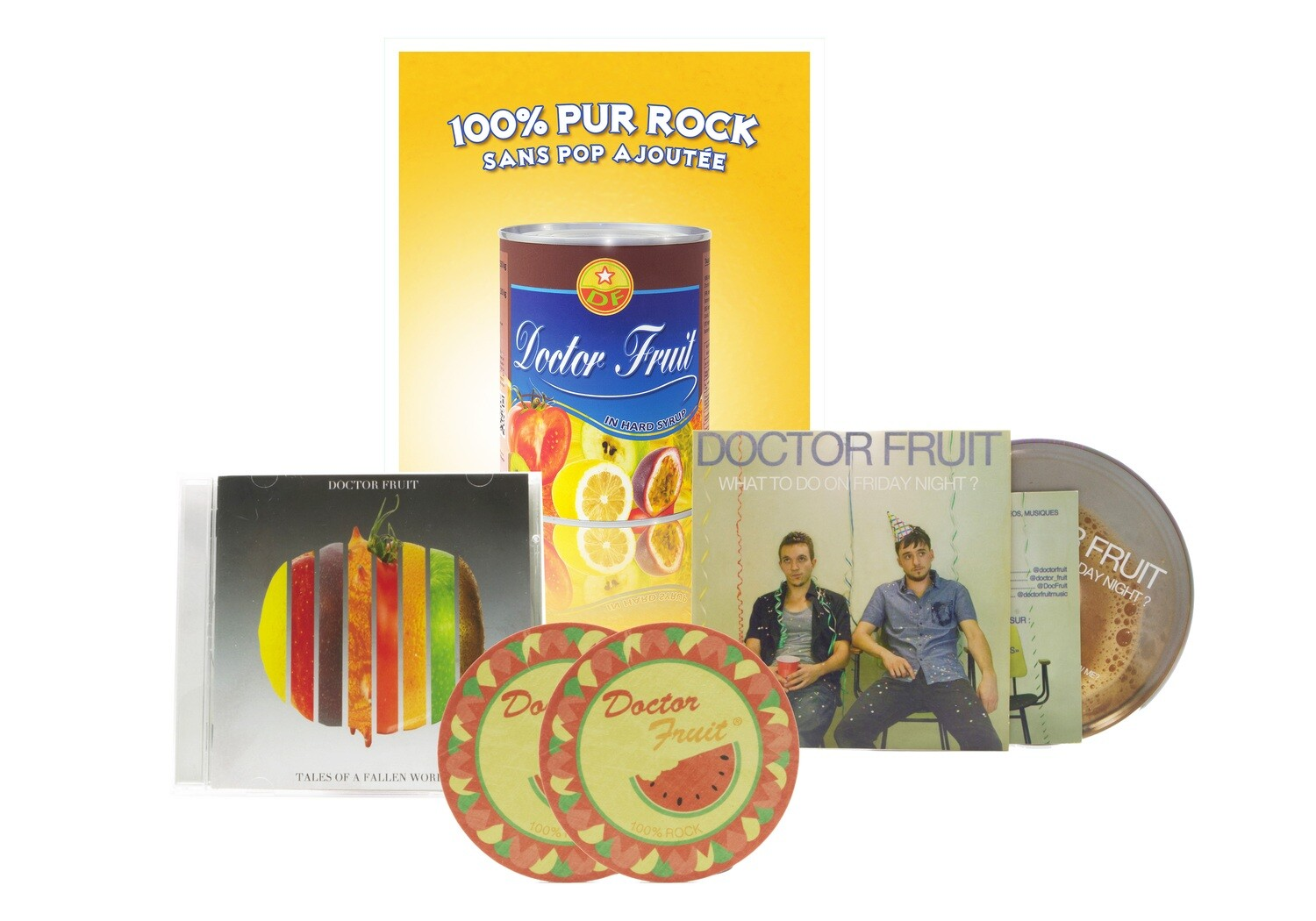 Pack Ultime - 4 articles Doctor Fruit