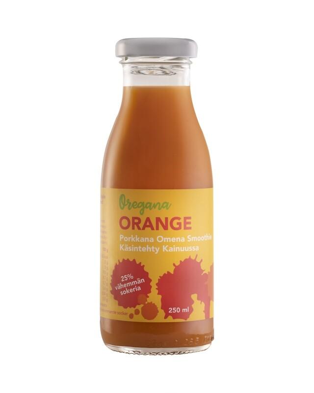 Oregana ORANGE porkkana-omena smoothie, 10 ploa