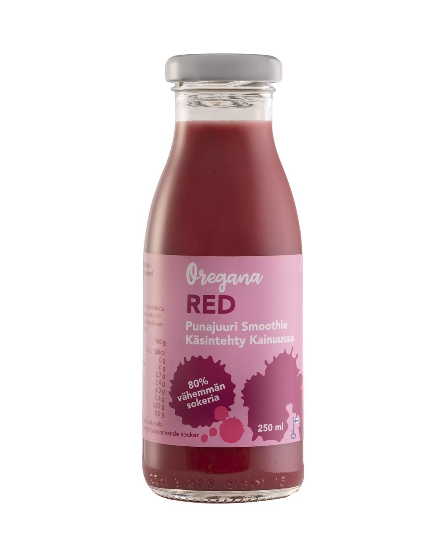 Oregana RED punajuuri smoothie,  10 ploa