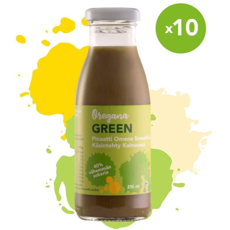 Oregana GREEN pinaatti-omena smoothie