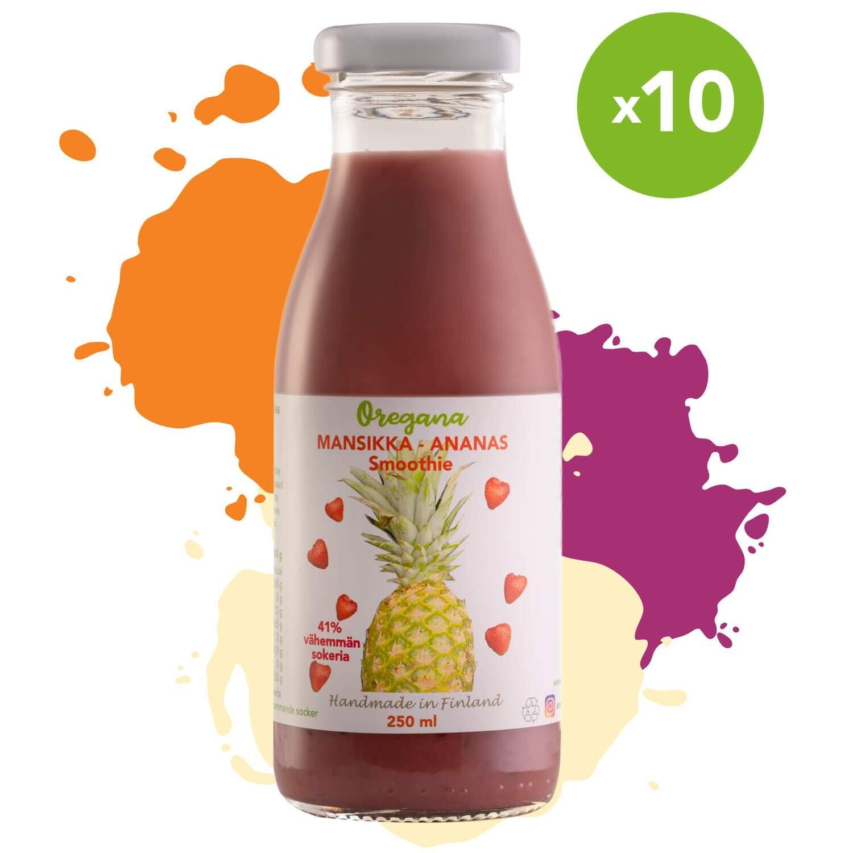 Oregana MANSIKKA-ANANAS smoothie