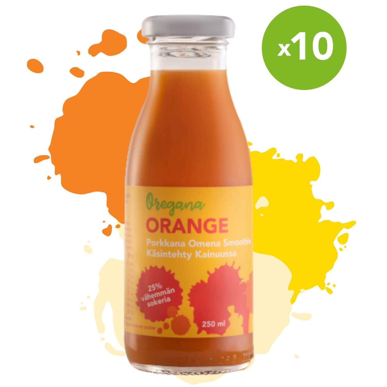 Oregana ORANGE porkkana-omena smoothie