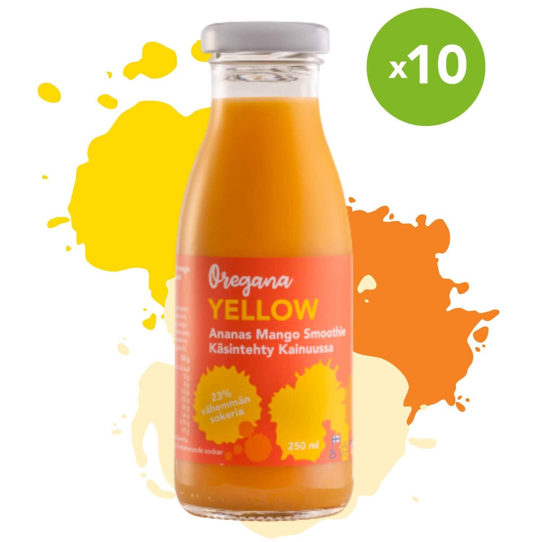 Oregana YELLOW ananas-mango smoothie
