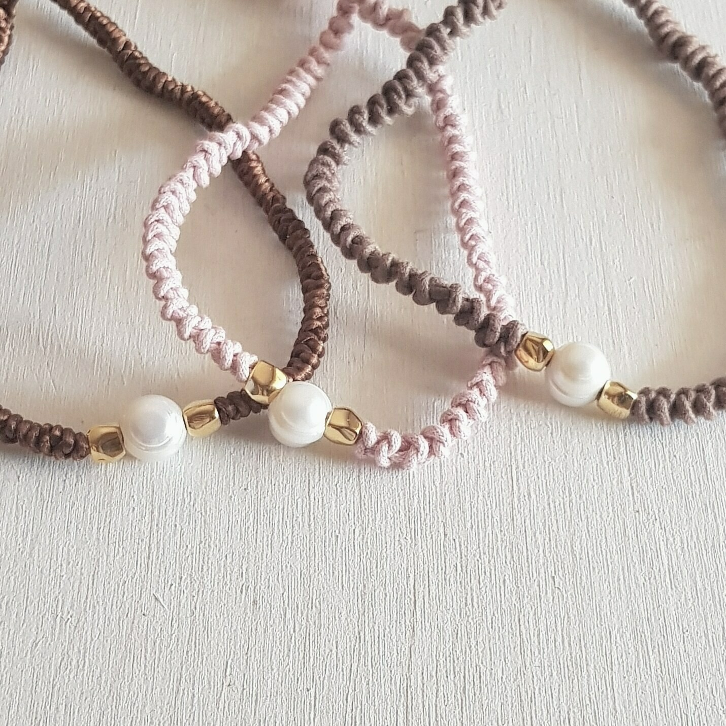 Collar snake & pearl