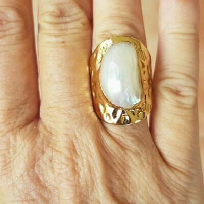 Anillo Gold Rock