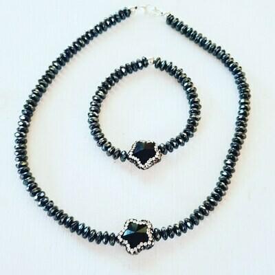 Collar  black star