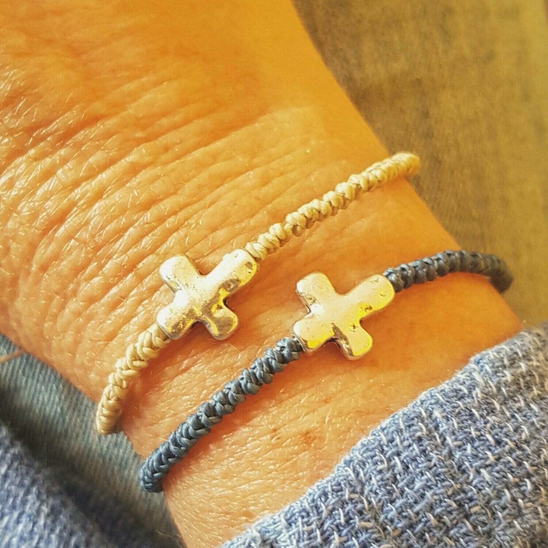 Pulsera silver cross