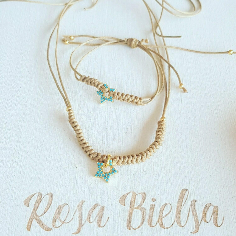 Pulsera blue star