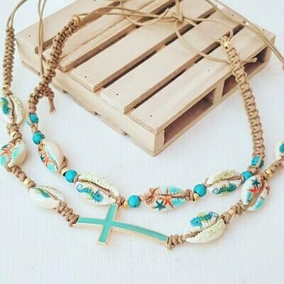 Collar Summer cross