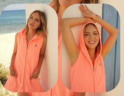 Vestido Vela naranja