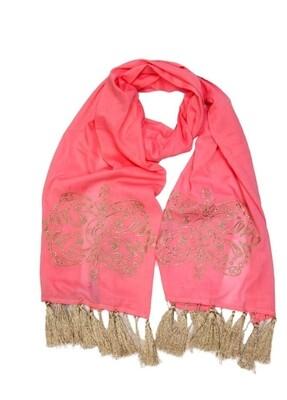 Foulard gold rosa