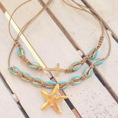 Pack star y cross
