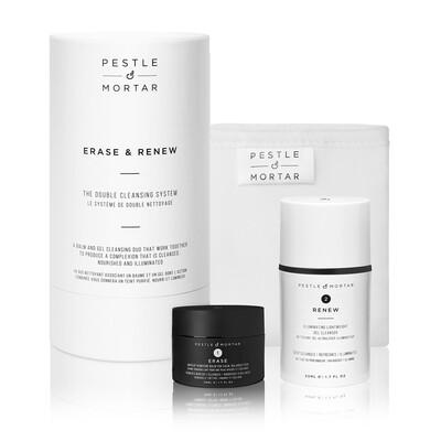 Набор для очищения кожи ERASE & RENEW