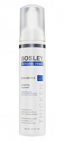 Несмываемый уход для густоты тонких НЕокрашенных волос  Bosley Bos REVIVE