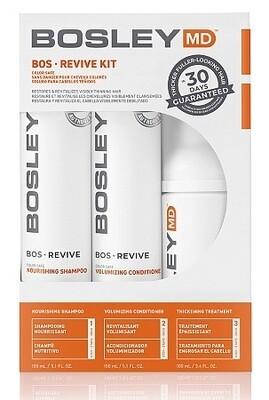 Система от выпадения для окрашенных волос/ BOSRevive Color Safe Starter Pack/шампунь + кондиционер + несмываемый уход/150ml+150ml+100ml/Bosley Pro