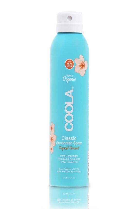"""Солнцезащитный спрей для тела """"Тропический кокос"""" SPF30"""
