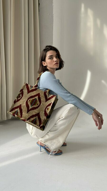 India medium tote bag