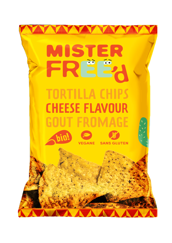 Mister Free'd Cheese Flavor - 135gr