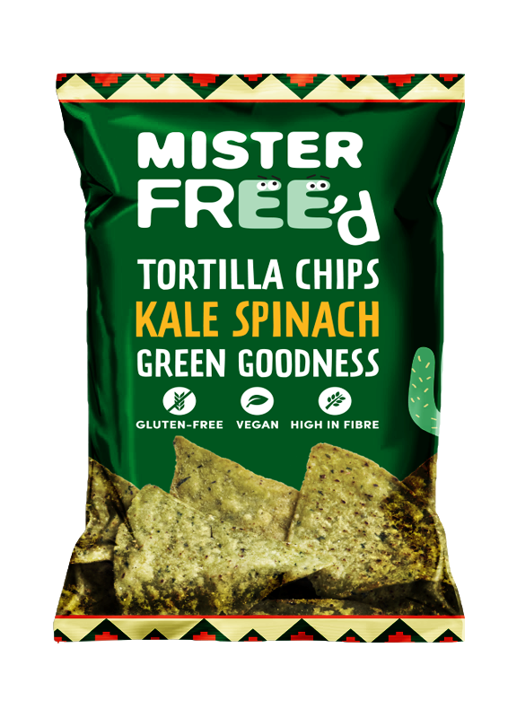 Mister Free'd Kale & Spinach - 135gr