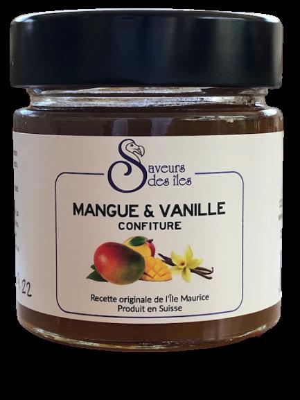 Confiture maison à la mangue & vanille - 250 gr