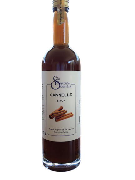 Sirop maison cannelle - 2.5 dl