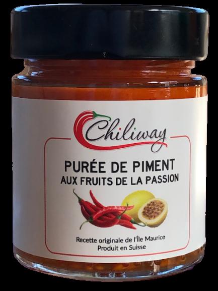 Purée de piment aux fruits de la passion - 140 gr