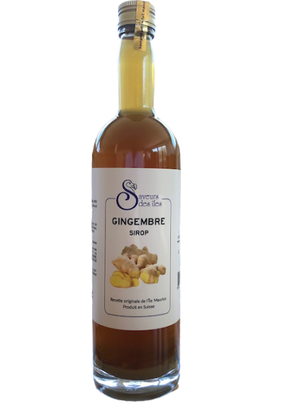 Sirop maison gingembre - 2.5 dl