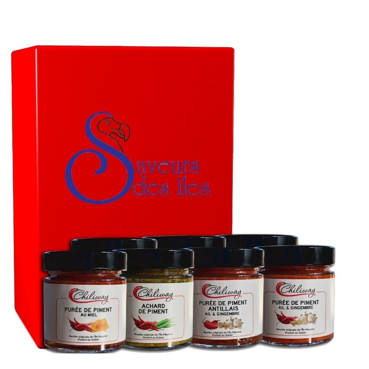 Coffret cadeau Terre Rouge - 6 produits