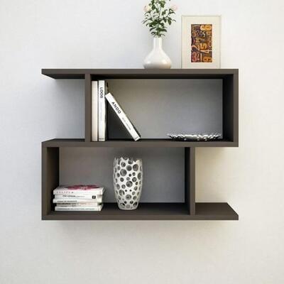 Home2go Wall Decor shelf - S shape