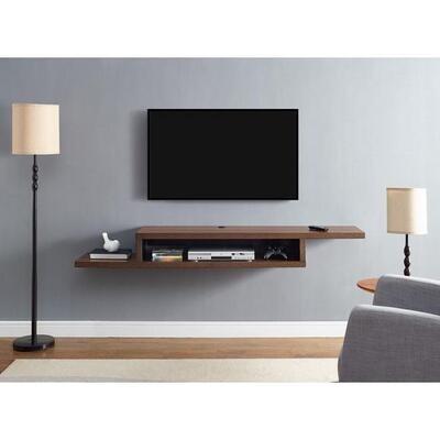 Home2go TV Floating Shelf, 135 cm - Brown