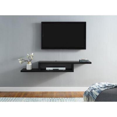 Home2go TV Floating Shelf, 135 cm - Black