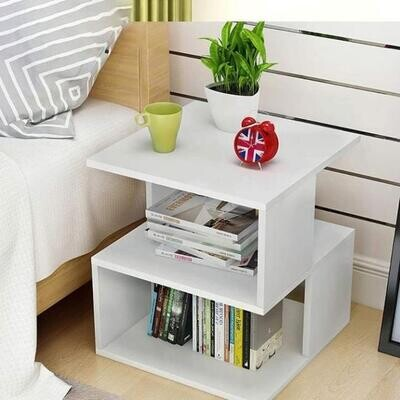 Bed side table with storage