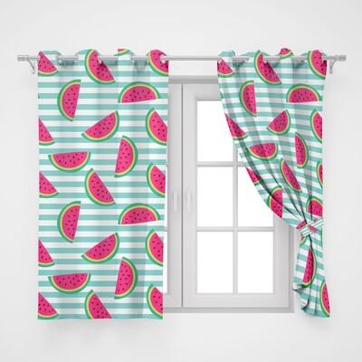 Home2go Watermelon Single Curtain - 145*260 cm