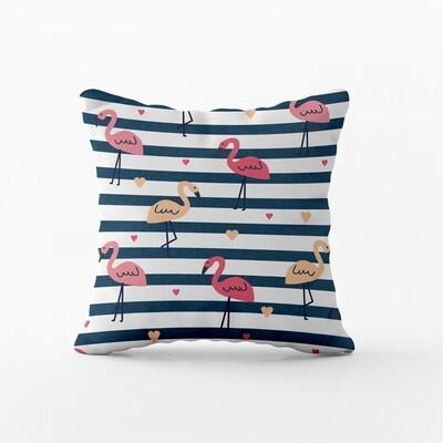 Home2go Flamingo Decor Cushion 45*45 cm