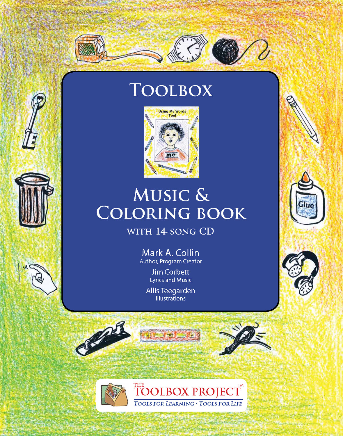 The Toolbox Coloring Book and CD 100books