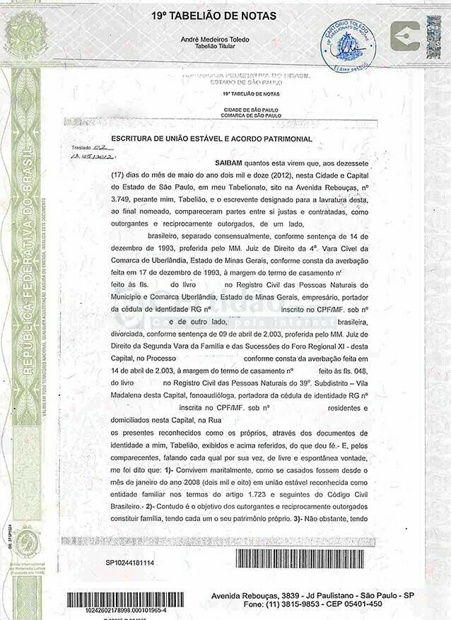 Déclaration d'Union Durable Brésil