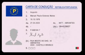 Permis de Conduire Portugal