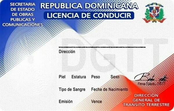 Permis de Conduire REP Dominicaine